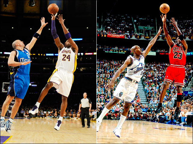 Quel mouvement faisaient Michael Jordan et Kobe Bryant quand ils étaient dos au panier ?