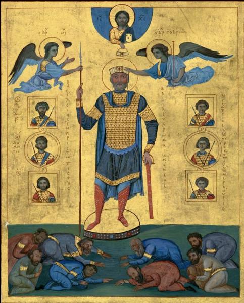 """Je vous le dit tout net ; avec Basile II, il y a un """"hic"""". Ce byzantin """"bizuta"""" l'armée bulgare (15 000 morts) et en renvoya 10 autres milliers chez eux : mais dans quel état ?"""
