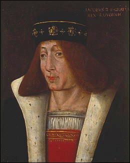 Jacques II d'Écosse n'avait alors que 10 ans et ne peut être tenu historiquement pour responsable. Mais de quoi, au juste ?