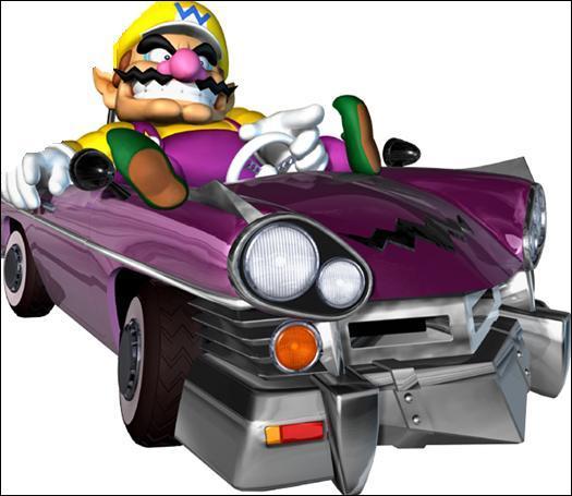 Dans Mario Kart Double Dash ! ! , Qui est le coéquipier de ce personnage ?