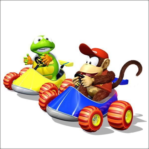 Diddy Kong a eu un jeu de Kart à lui tout seul ! Comment ce jeu s'appelle-t-il ?