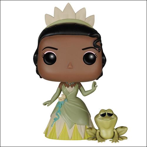Et maintenant, qui est cette princesse positionnée à côté d'une grenouille ?