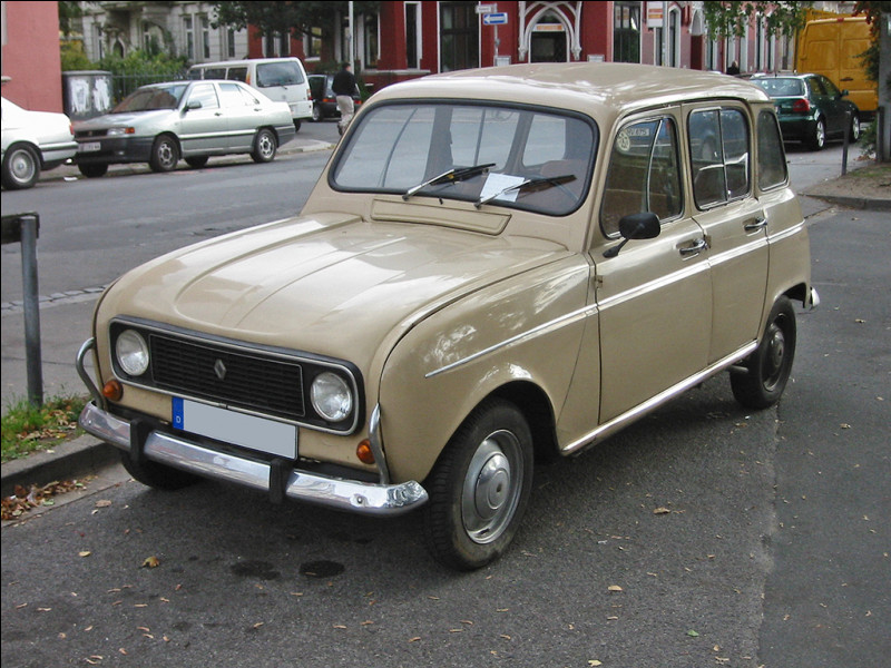 Cette voiture a un rapport avec un film tourné à Courquain. C'est...