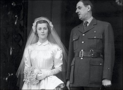 Dans quelle ville se sont mariés le général de Gaulle et Yvonne Vendroux ?