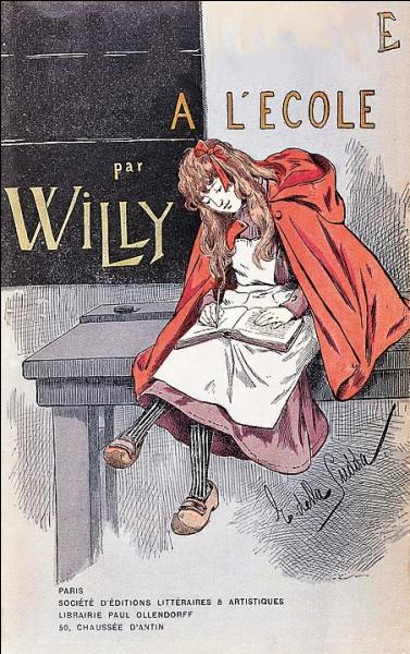 L'histoire commence vraiment en 1900 lorsque je publie, sous le nom de mon mari, un 1er roman autobiographique qui fera parler de lui :