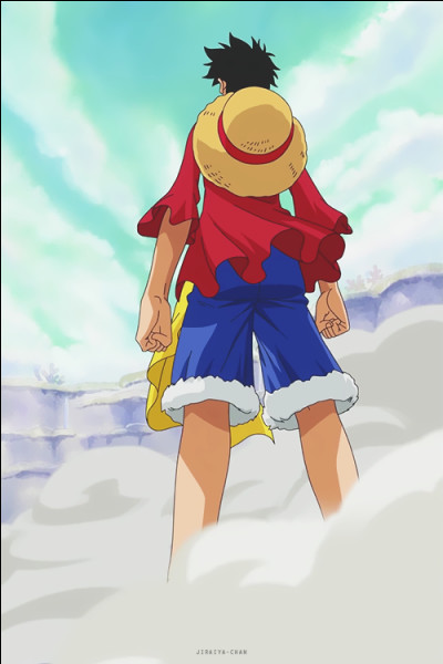 Où Luffy a-t-il une cicatrice ?