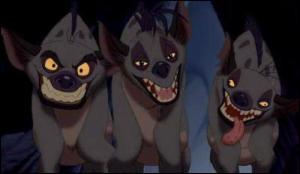 Et pour finir, quels sont les prénoms de ce trio de hyènes ?