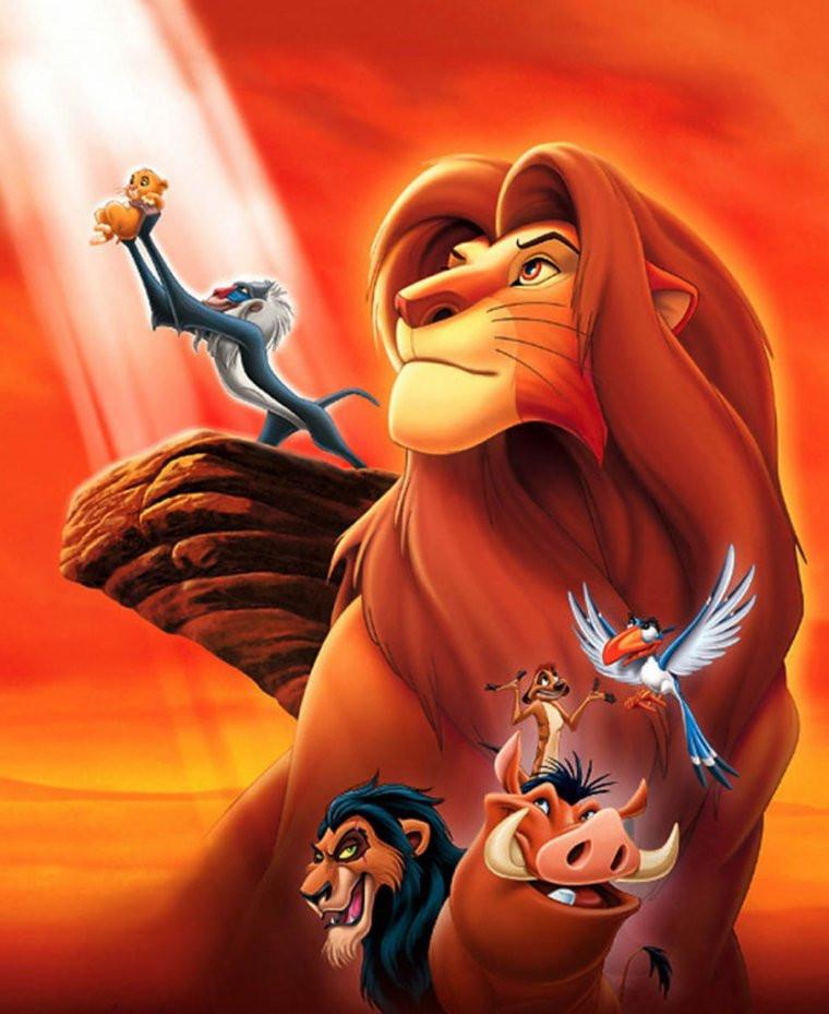 Les personnages de 'Le Roi lion'