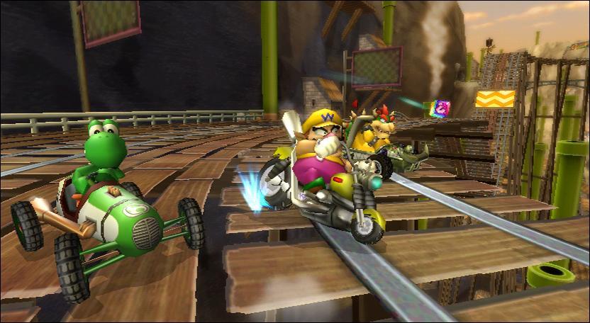 À quel personnage appartient ce circuit extrait de Mario Kart Wii ?