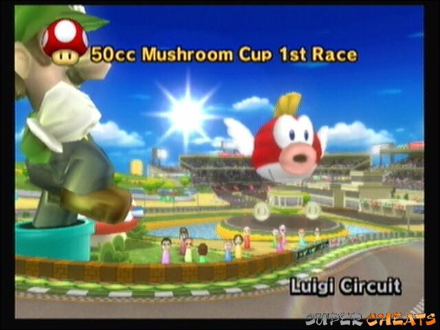 Quel ennemi puis-je rencontrer au circuit Luigi de Mario Kart Wii ?