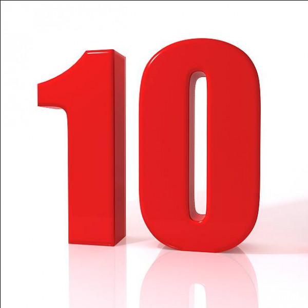 En espagnol, comment traduit-on 10 ?