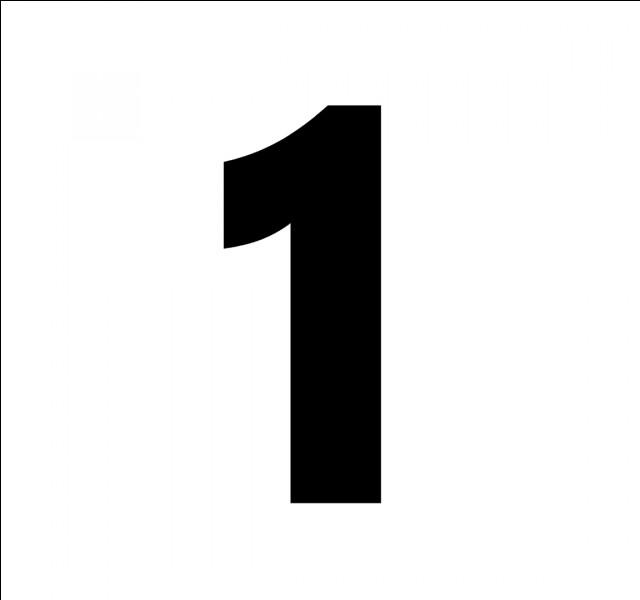 En espagnol, comment traduit-on le chiffre 1 ?