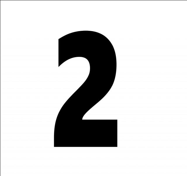 En espagnol, comment traduit-on le chiffre 2 ?