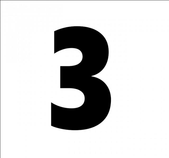 En espagnol, comment traduit-on le chiffre 3 ?