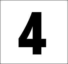 En espagnol, comment traduit-on le chiffre 4 ?