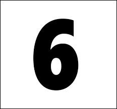 En espagnol, comment traduit-on le chiffre 6 ?