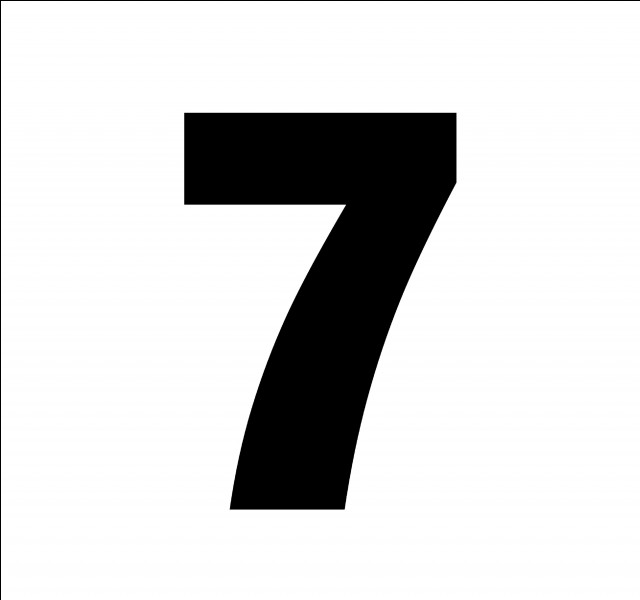 En espagnol, comment traduit-on le chiffre 7 ?