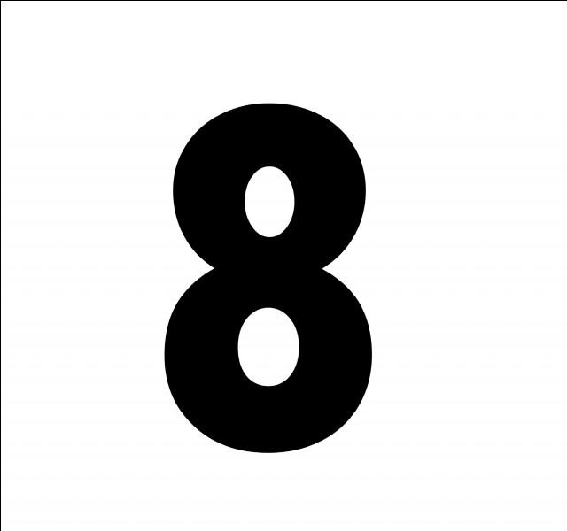 En espagnol, comment traduit-on le chiffre 8 ?