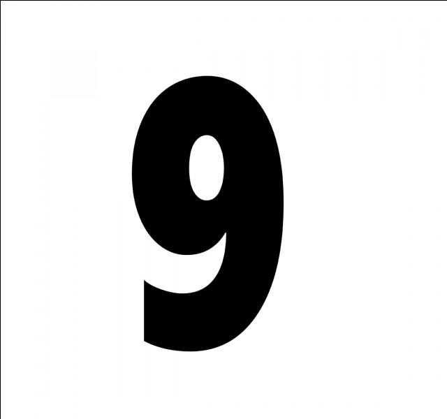 En espagnol, comment traduit-on le chiffre 9 ?