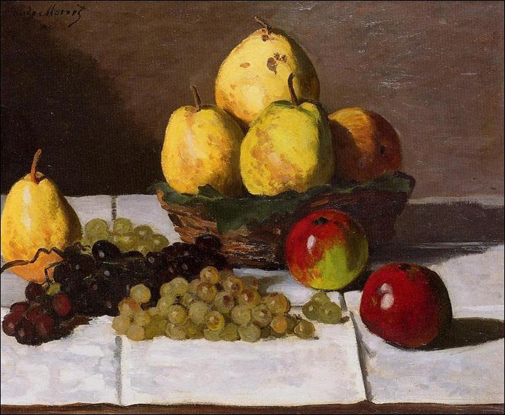 """Qui a peint """"Nature morte aux poires et raisins"""" ?"""