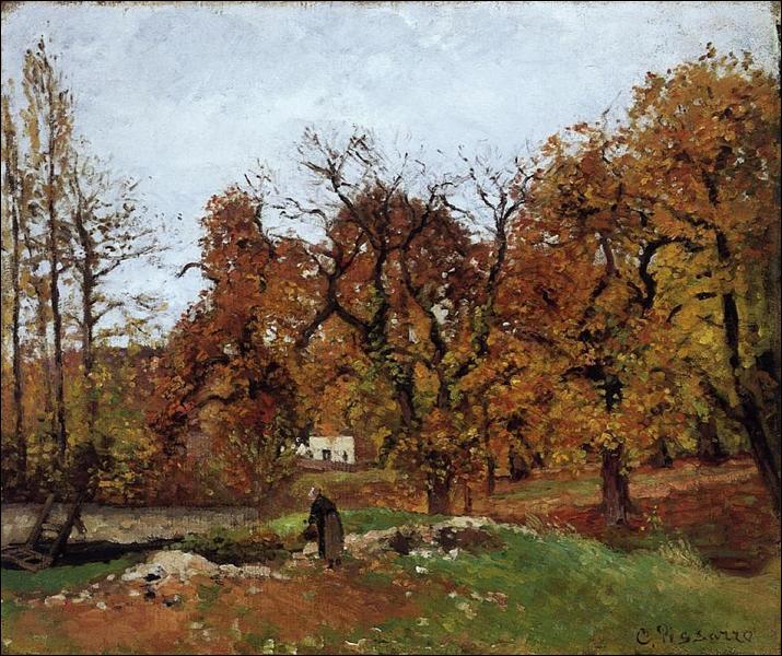 """Qui a peint """"Paysage d'automne, près de Pontoise"""" ?"""