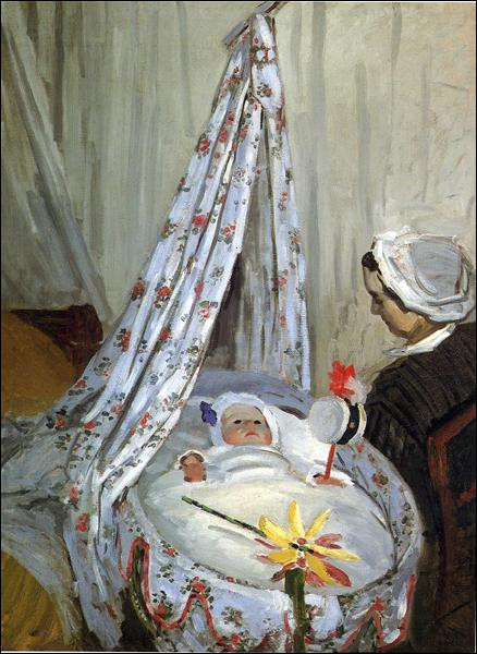 """Qui a peint """"Jean Monet dans le berceau"""" ?"""