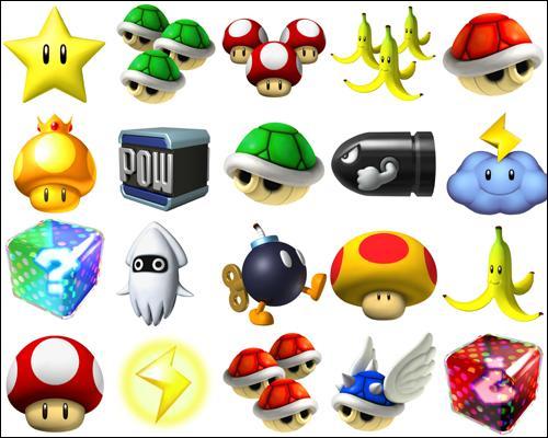 Quel objet manque-t-il pour que tous les objets de Mario Kart Wii soient représentés ?