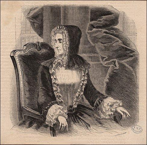 Malgré cela, je fut la risée - et jalousée ! - par ses dames qui tiennent salon, dont la baronne de Staal-Delaunay et la célèbre Mme ...