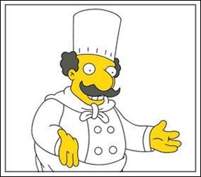 Qui est ce personnage, propriétaire d'un restaurant italien ?