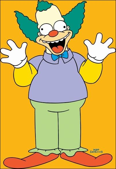 Quelle est la religion de Krusty le clown ?