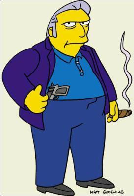 Qui est le chef de la mafia de Springfield ?