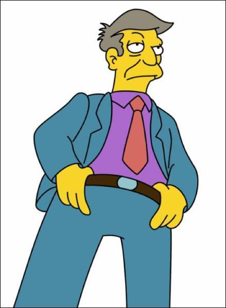 Qui est le principal de l'école de Springfield ?