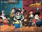 Toy Story 2. Dans quoi se cachent les jouets pour traverser une rue très fréquentée ?