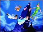 Peter Pan. Au dessus de quelle grande ville s'envolent Peter Pan et les enfants ?