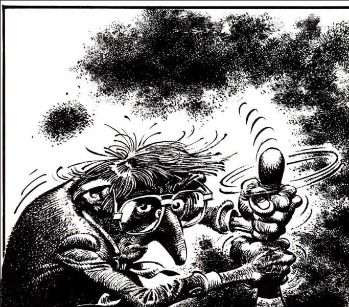 Le dessinateur Franquin avait un côté dépressif. Quel est le titre de cet album en noir et blanc, plutôt spécial, réalisé en 1983 ?