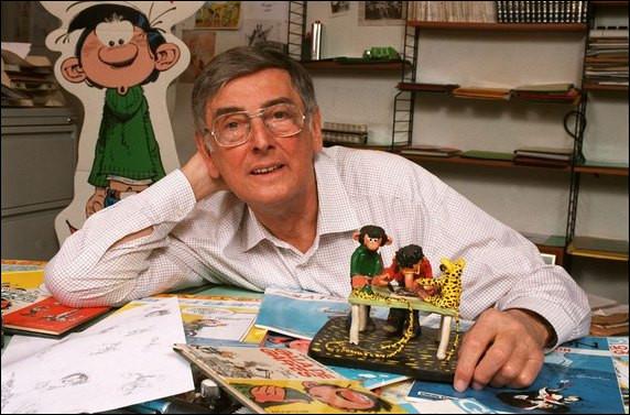 Qui est le génial dessinateur et scénariste de cette BD Gaston Lagaffe ?