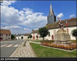 Pour finir, je vous emmène dans l'ex région Limousin, à Soumans. Nous serons dans le département ...
