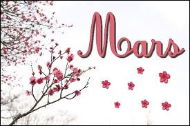"Comment dit-on ""mars"" ?"