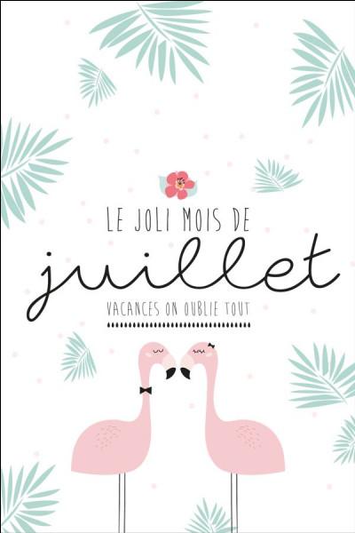"""Comment dit-on """"Juillet"""" ?"""