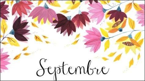 """Comment dit-on """"septembre"""" ?"""