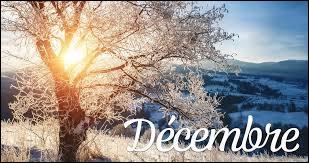 """Comment dit-on """"décembre"""" ?"""