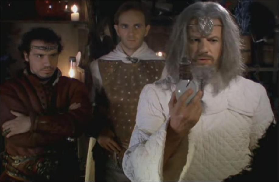Dans les défis de Merlin, quel ingrédient ne se trouve pas dans la potion de Merlin ?