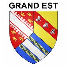 Quelles sont les trois anciennes régions qui ont fusionné ensemble pour donné cette nouvelle région du Grand Est ?