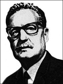 Qui est ce Salvador, médecin chilien, président de la République du Chili de 1970 à 1973, renversé par le coup d'Etat du 11 septembre 1973 du général Pinochet qui le pousse au suicide ?