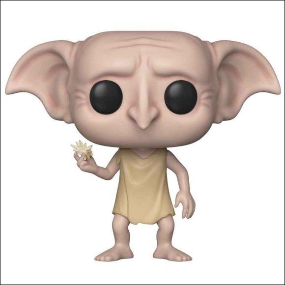 Que tient Dobby dans sa main ?