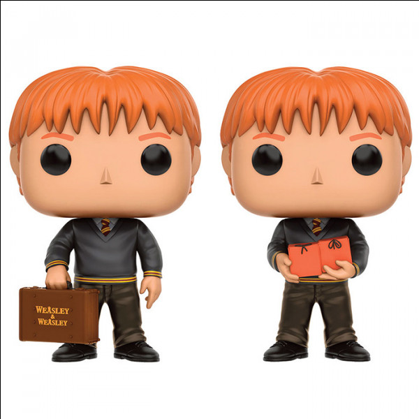 Voici les jumeaux Weasley en train de faire la promotion de leur nouveau commerce. Comment se nomme-t-il ?