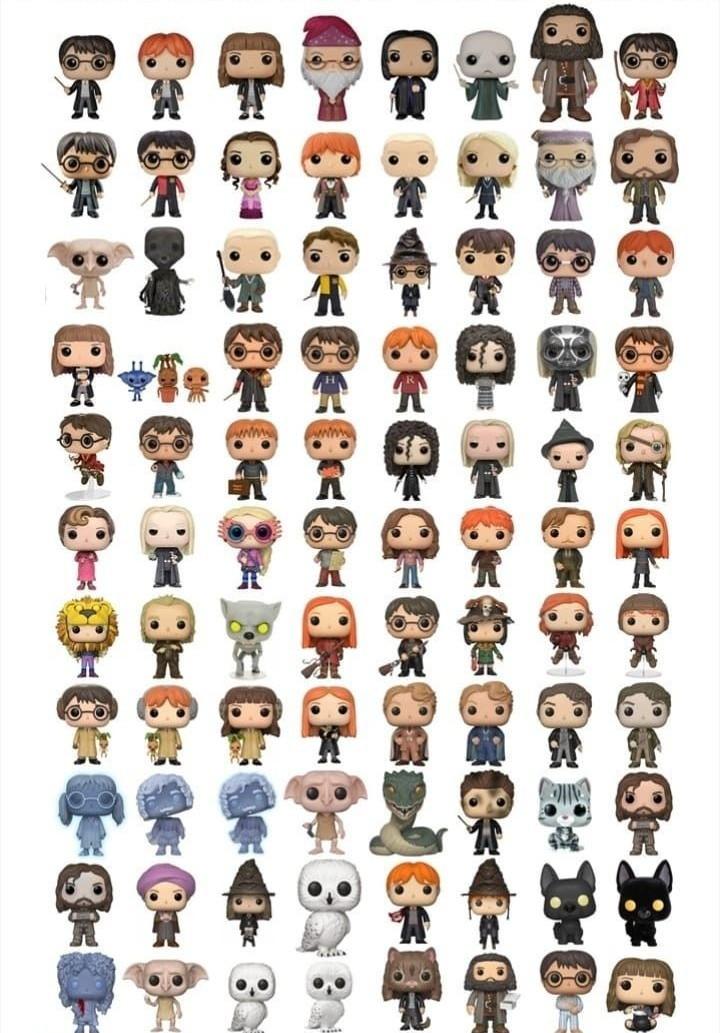 Figurines Harry Potter n°2