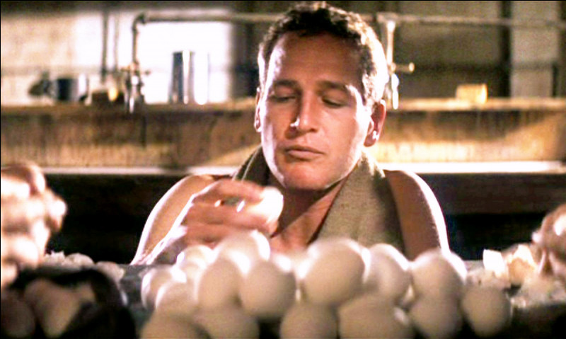 Quel est le personnage que Paul Newman interprète sur cette image ?