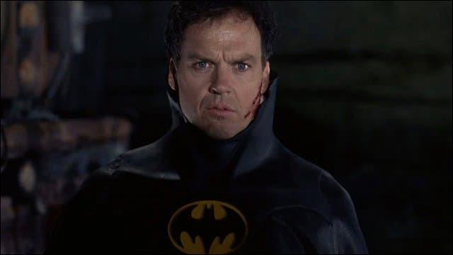 Quel est le personnage que Michael Keaton interprète sur cette image ?