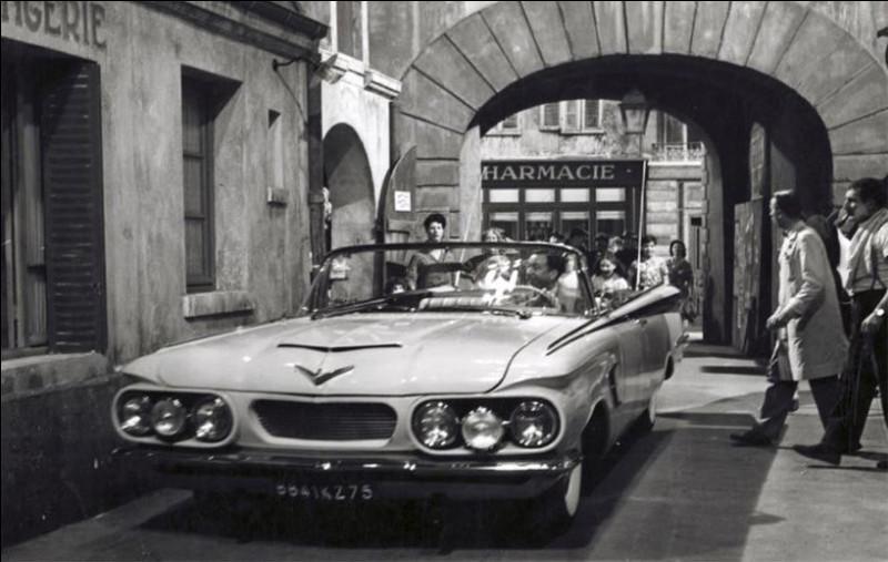 Dans ce film de Robert Dhéri sorti en 1961 une Oldsmobile coupée de 1959, a été modifiée et sert d'intrigue. Quel est le titre de cette comédie ?